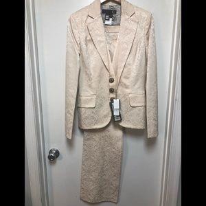 Authentic Robert Cavalli 2 pc Pantsuit (44 Long)
